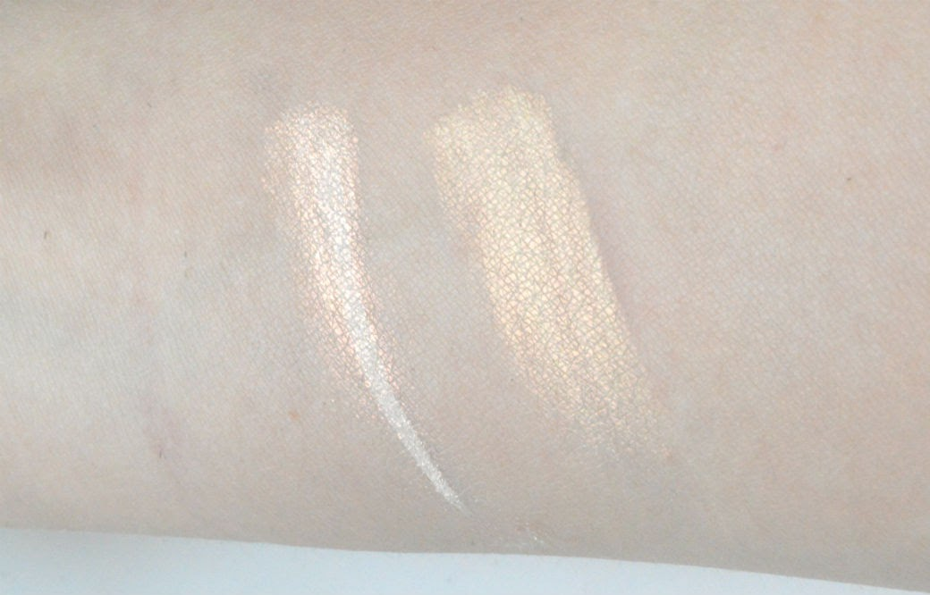 Pure Luxe Cosmetics Swatch Copper Aura Moon Glow
