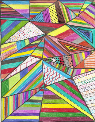 Resultado de imagem para arte com triangulo