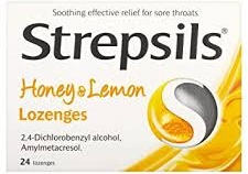 Strepcils cold and cough
