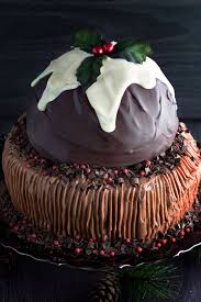 Chocolate flavour cake for December season