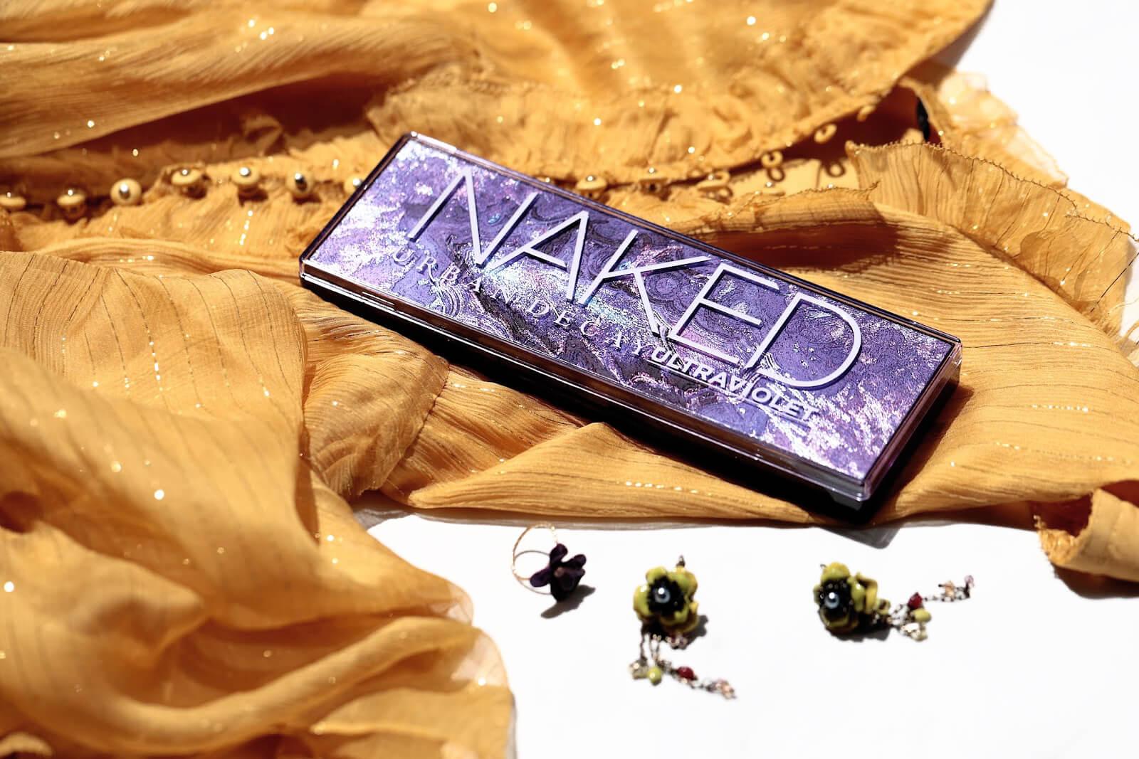 Naked Ultra Violet Palette test