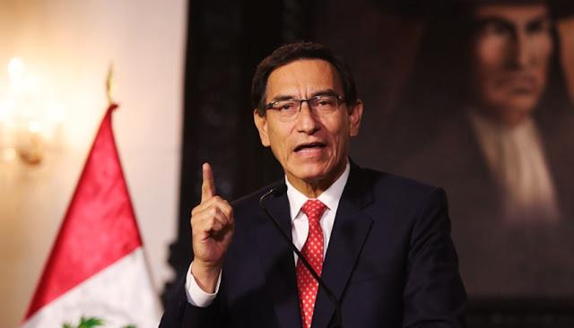 Martín Vizcarra: Congreso admite a debate moción de vacancia contra el jefe de Estado