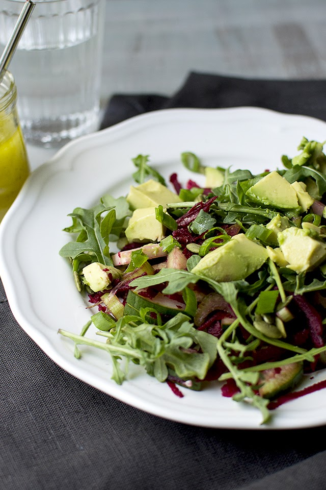 Detox Salad with Beets & Arugula