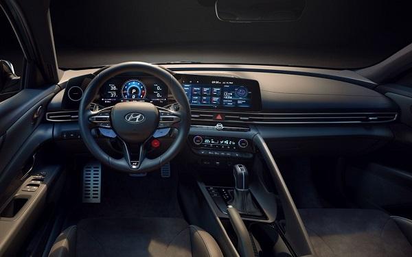 Interior Hyundai Elantra N