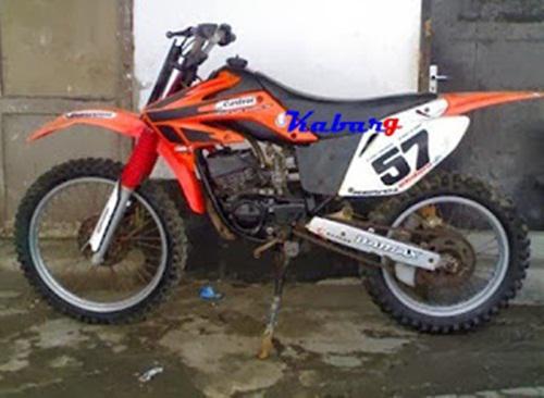 motor rx king modif trail terkeren