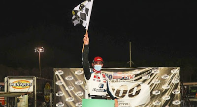 Sammy Smith Cruises to Checkered at 5 Flags For First #ARCA Menards Win