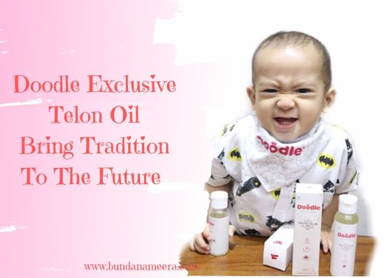 review minyak telon doodle, aromaterapi minya telon doodle, manfaat minyak telon doodle