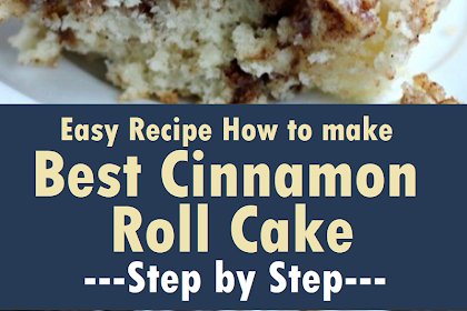 How to Make The Best Cinnamon Roll Cake