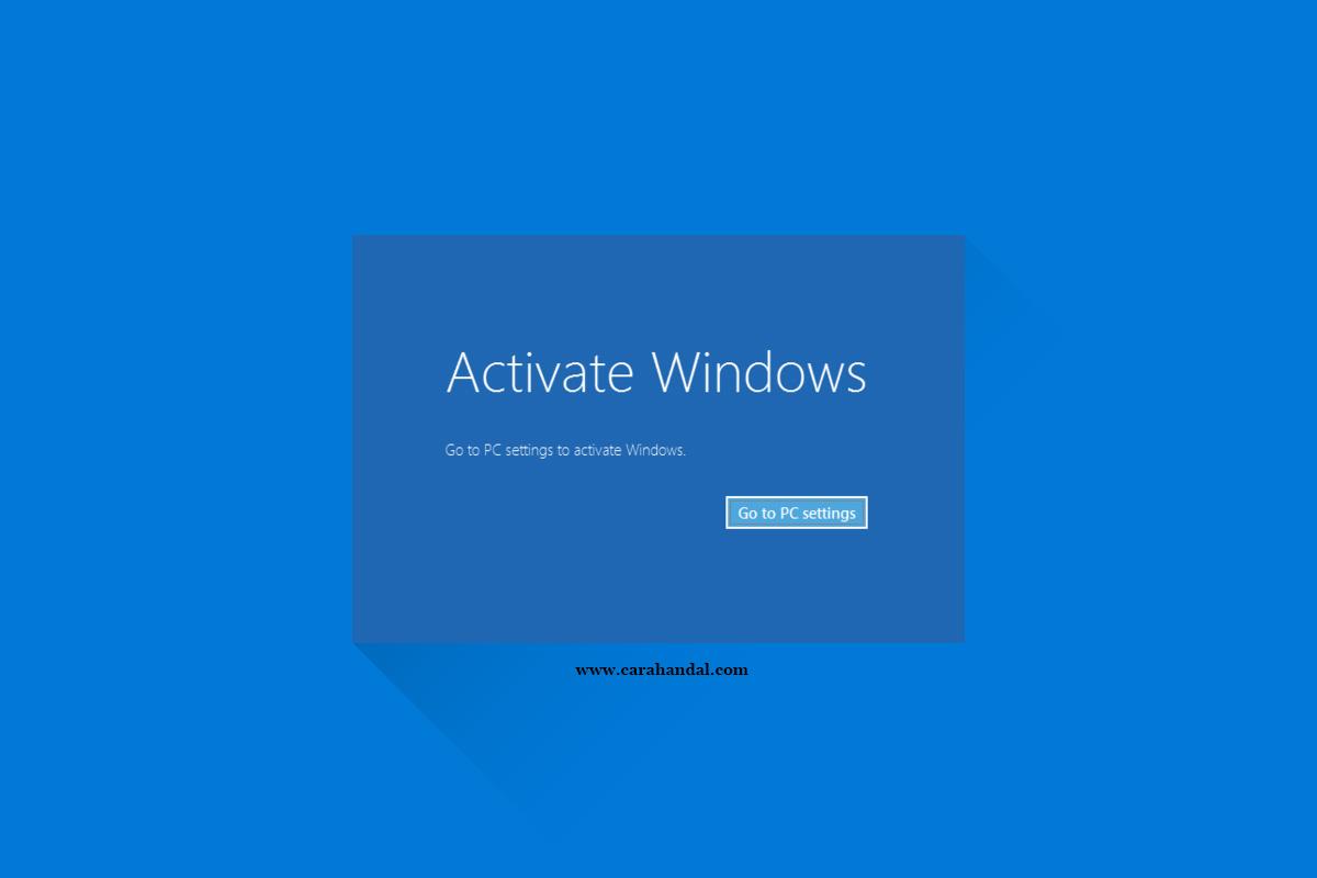 Cara Menghilangkan Activate Windows di Laptop atau Komputer