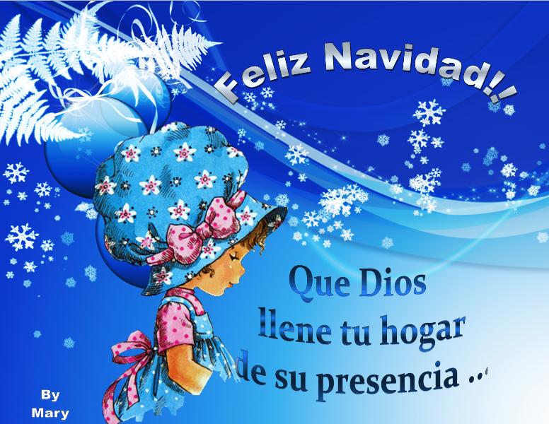 Bellas imágenes con mensajes de feliz navidad
