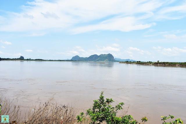 Vistas al río en Hpa An