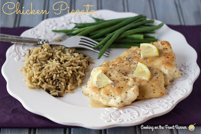 Chicken Piccata   Cooking on the Front Burner