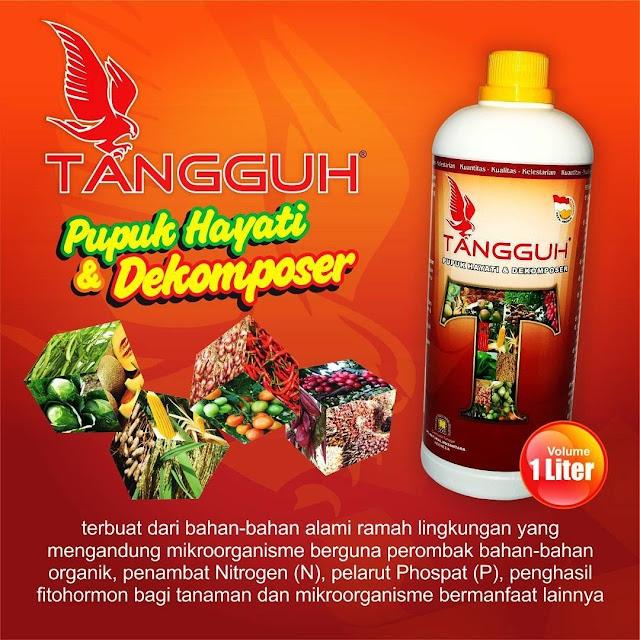 Tangguh Decomposer - Pupuk Hayati Decomposer Ramah Lingkungan
