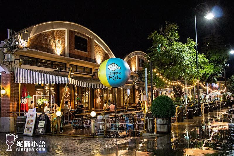 【曼谷景點】Asiatique 河濱碼頭夜市。摩天輪河岸的吸睛曼谷新地標