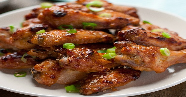 Tahini-Glazed Chicken Wings Recipe