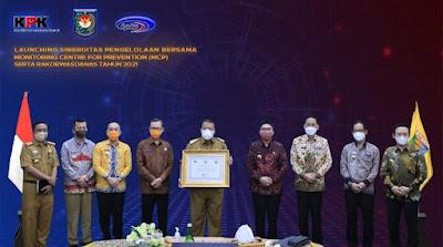 Pemprov Lampung Terima Penghargaan Dari Kemendagri