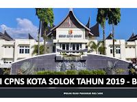 Formasi CPNS 2019 Kota Solok