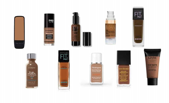 Drugstore liquid foundations for African-American women | A Relaxed Gal