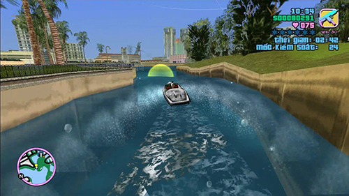 Vice C.ty rồi sẽ thử tài lái thuyền của bạn đấy