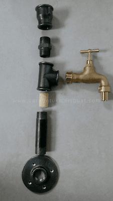 Bahan Untuk Membuat Dispenser Dari Pipa Industri
