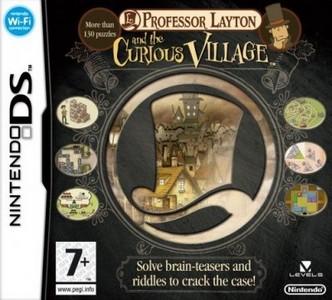 Rom Profesor Layton y la Villa Misteriosa NDS