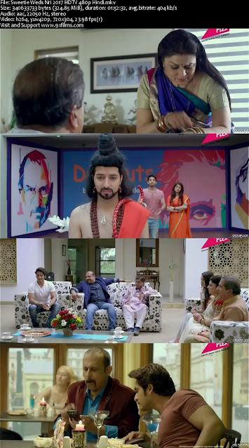 Sweetie Weds Nri 2017 HDTV 480p Hindi