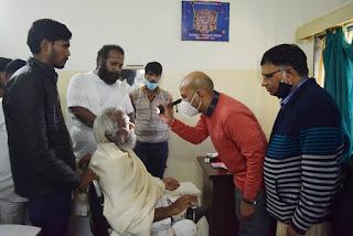 राजेन्द्रसूरि जैन चिकित्सालय में निःशुल्क स्वास्थ्य एवं नेत्र परीक्षण शिविर का आयोजन हुआ