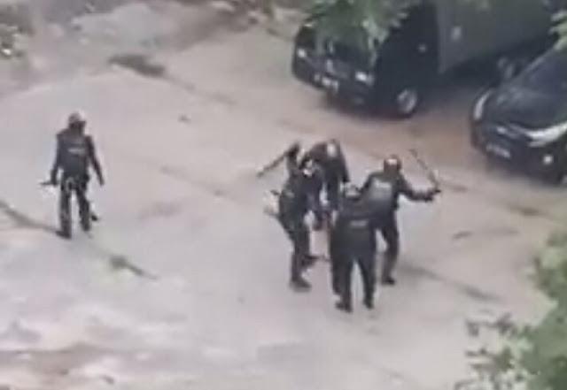 Bukan Andri Bibir, Begini Kondisi Markus dalam Video Brimob Brutal