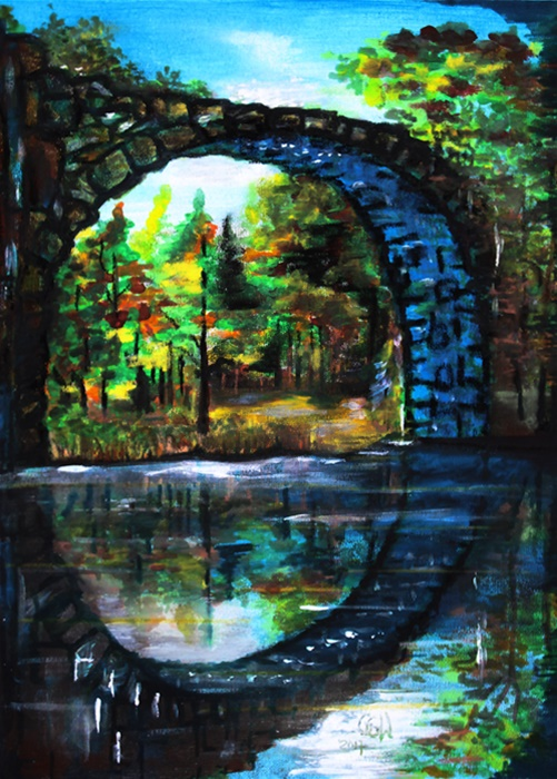 obraz akrylami ggw gallery