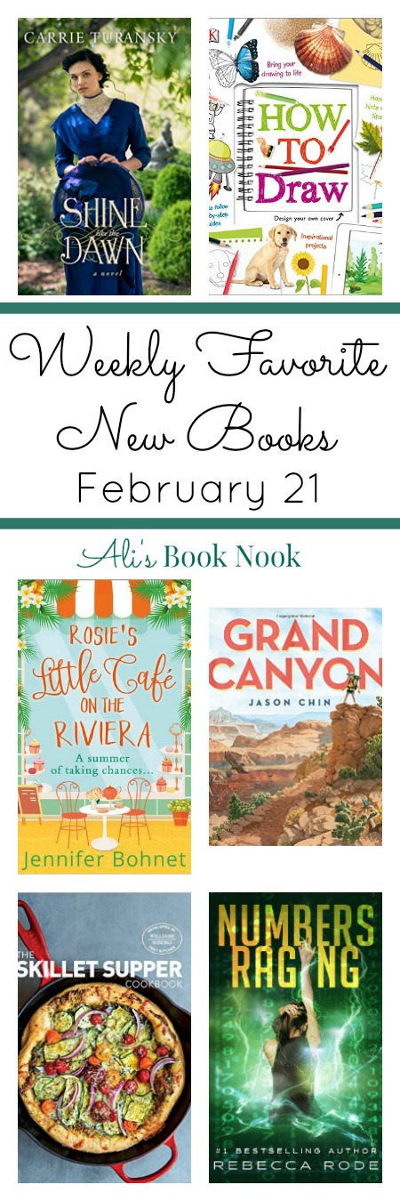 Best newly published books - novels, nonfiction, kids books - february 21st