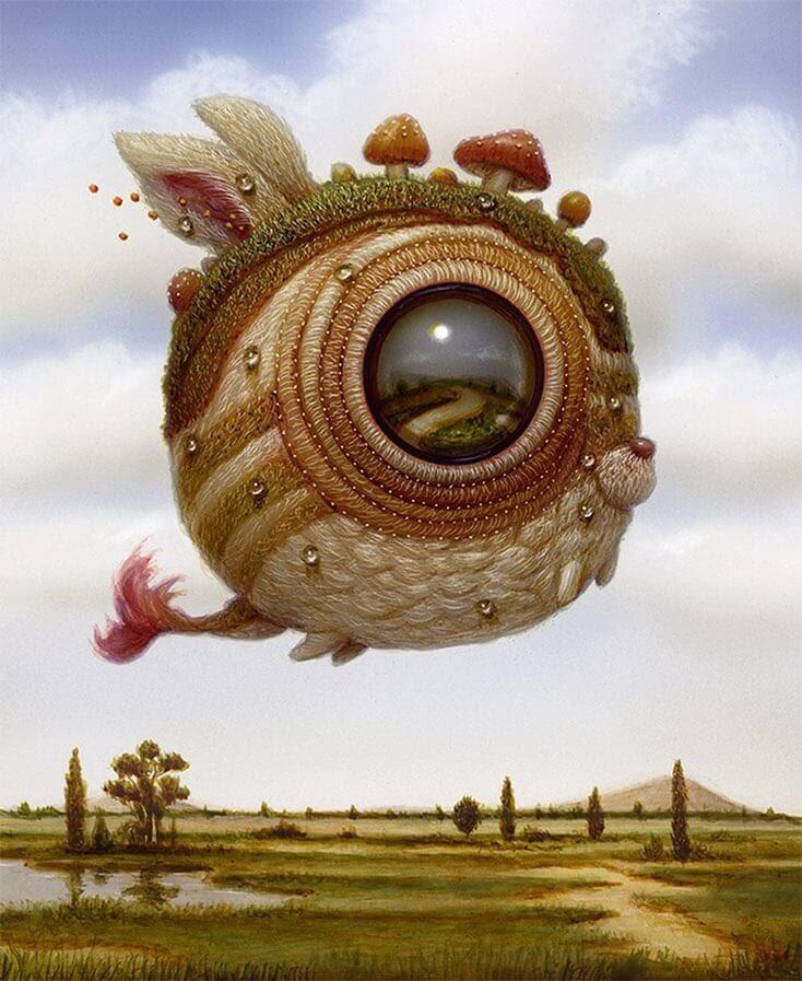 10-Soaring-over-the-landscape-Surreal-Creature-www-designstack-co
