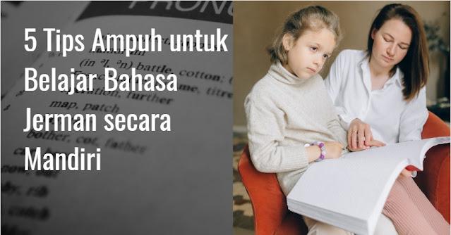 tips ampuh belajar bahasa jerman