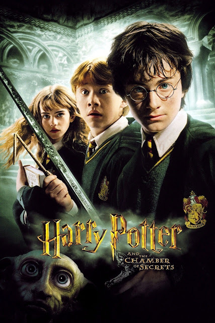 Harry Potter and the Chamber of Secrets 2002 movieloversreviews.filminspector.com film poster
