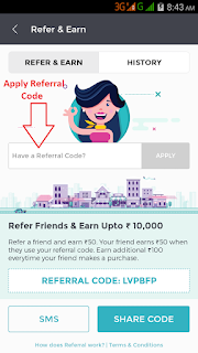Fynd App Refer & Earn - Rs.250 on Signup + Rs.150 Per Refer