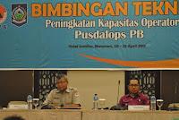 BNPB Gelar Bimtek Peningkatan Kapasitas Operator Pusdalops PB