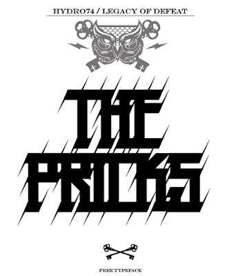 The Pricks Free Font Graffiti