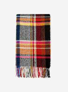 Dorothy Perkins - Multi Colour Check Print Scarf