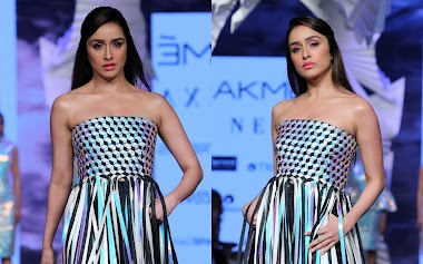 Shraddha Kapoor Walks For Rielan By Pankaj And Nidhi At LFW 2020 Photos
