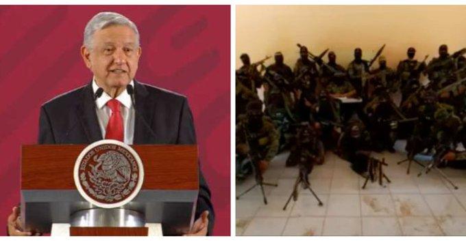 """""""Pórtense bien""""; dice AMLO al CJNG tras amenazas de El Mencho en un Vídeo"""