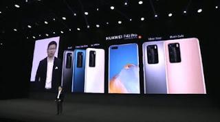 handphone p40 series dapur pacu