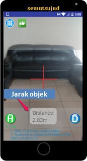 Pada postingan ini kita akan belajar mengukur jarak menggunakan kamera Android dengan bant Cara mengukur jarak menggunakan kamera Android