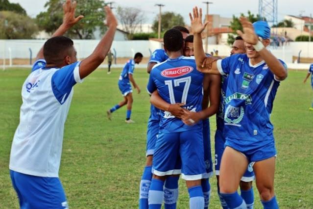 Oeirense vence Caiçara e dispara na Série B