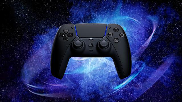 PlayStation Midnight Black DualSense Controller