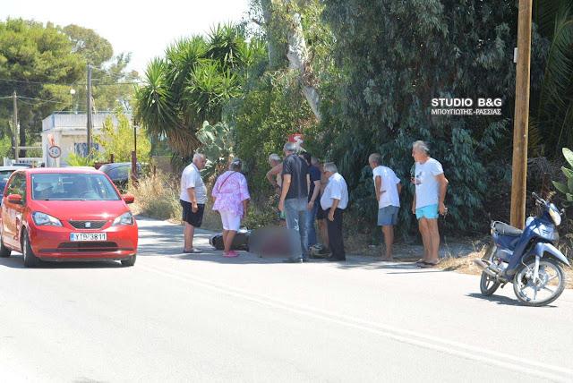 Αργολίδα: Τροχαίο με τραυματία στη Νεα Κίο