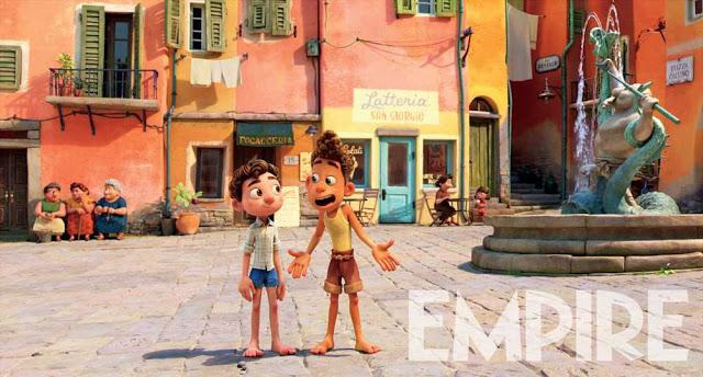 Pixar Luca Screenshot with Luca and Alberto