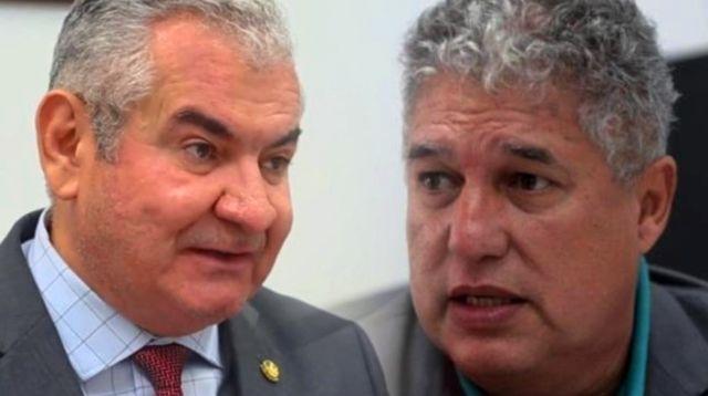 Senador Coronel e Rosemberg Pinto atuavam em disputa de terra pivô para escândalo no Judiciário.