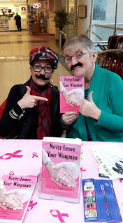 "Dionne Warner and author Deana Driver at a book signing, ""Movember"" 2016"
