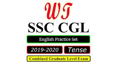 SSC CGL 2020 English Tense Practice Set Free PDF Download