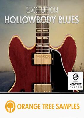 Cover da Library Orange Tree Samples - Evolution Hollowbody Blues (KONTAKT)