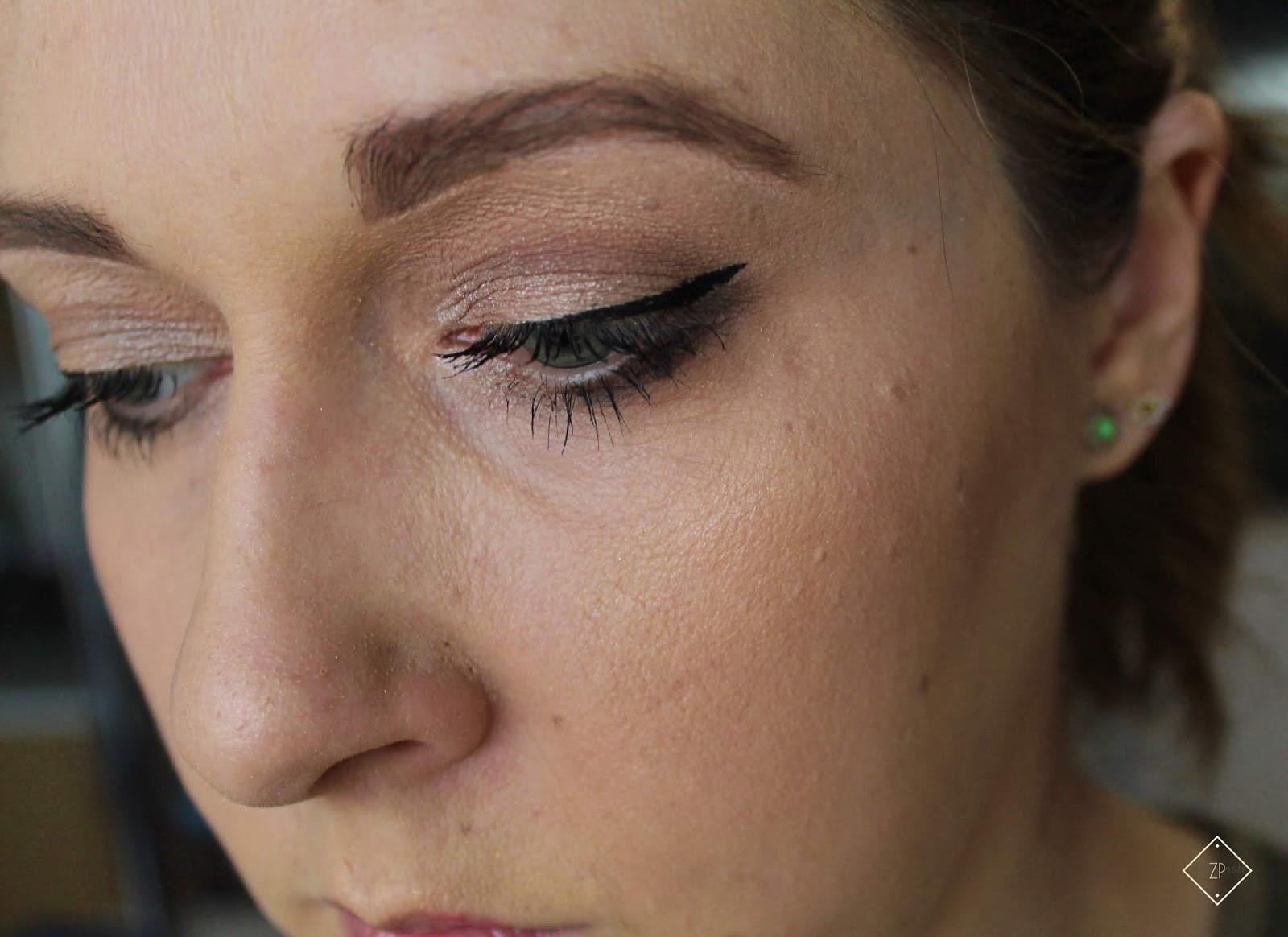 Makijaż kosmetykami kolorowymi NUTRIDOME
